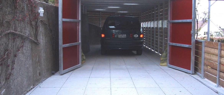 Garage offen-web