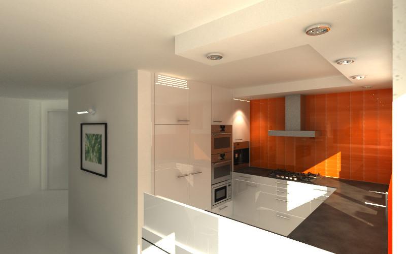 Geering Küche orange